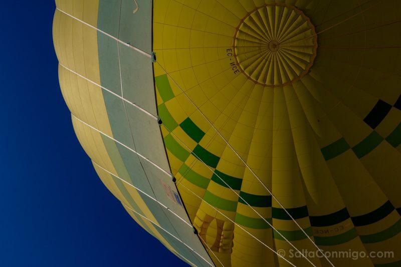 Volar Globo Segovia Vela