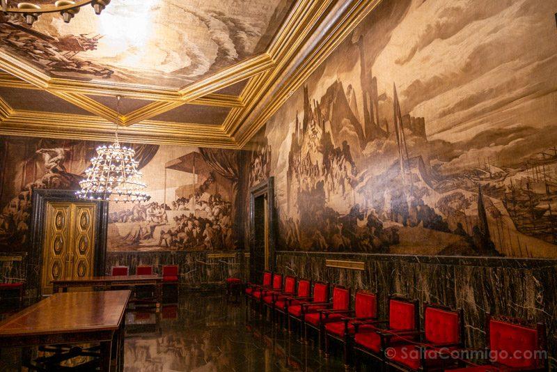 Ayuntamiento Barcelona Casa Ciutat Sala Croniques Sert