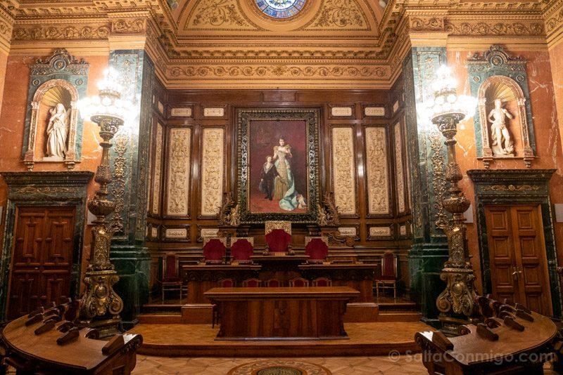 Ayuntamiento Barcelona Casa Ciutat Sala Plenari Carles Pi Sunyer