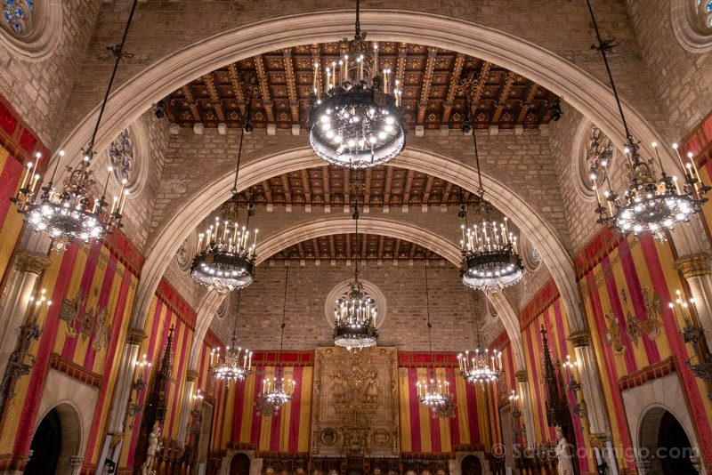 Ayuntamiento Barcelona Casa Ciutat Salo Cent