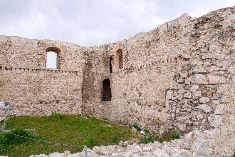 Castillo Alameda Osuna Muro Interior