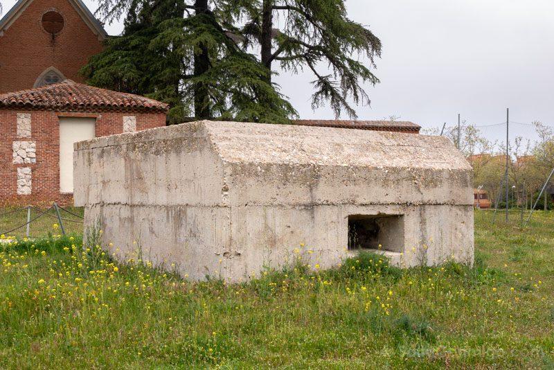 Castillo Alameda Osuna Nido Ametralladoras Guerra Civil
