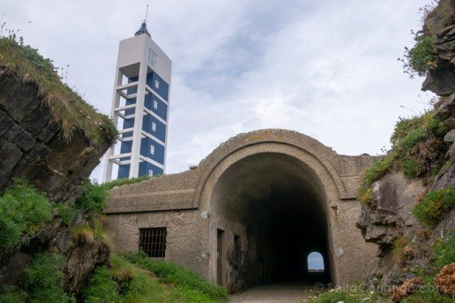 Costa Artabra Faro Punta Frouxeira Tuneles
