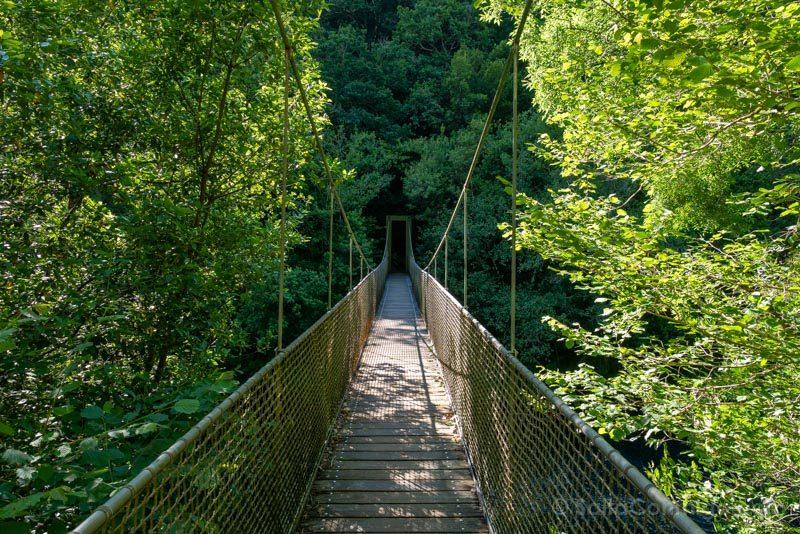 Fragas do Eume Os Encomendeiros Puente Colgante
