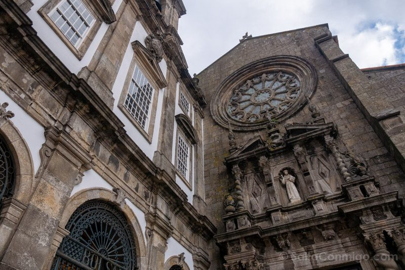 Iglesia San Francisco Oporto Fachada