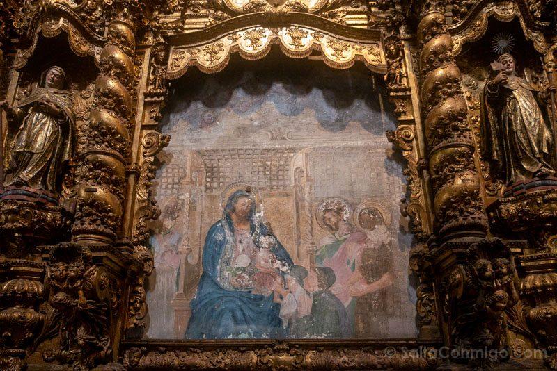 Iglesia San Francisco Oporto Retablo Nossa Senhora da Rosa