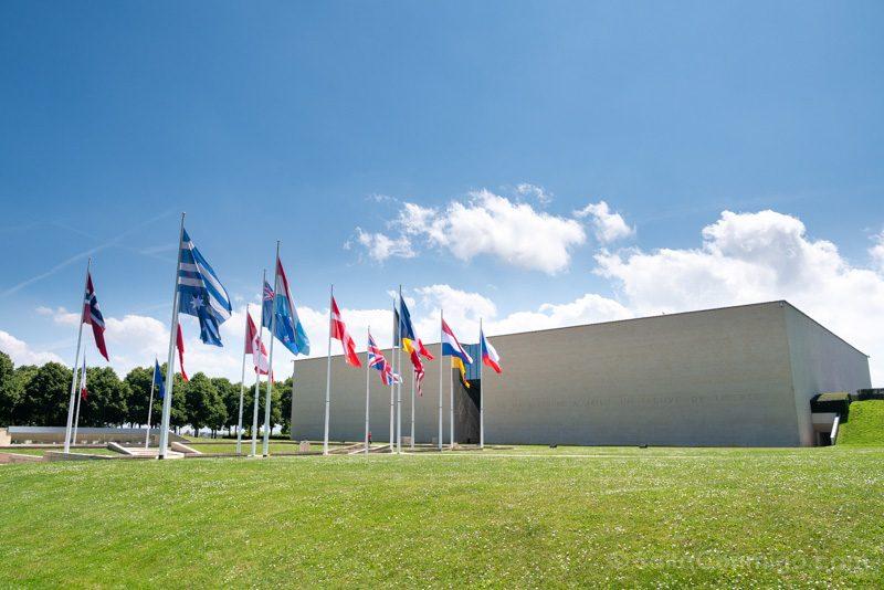 Memorial de Caen Exterior