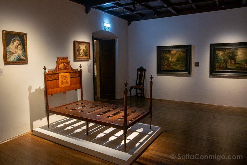 Museos de Gijon Casa Natal Jovellanos Cama