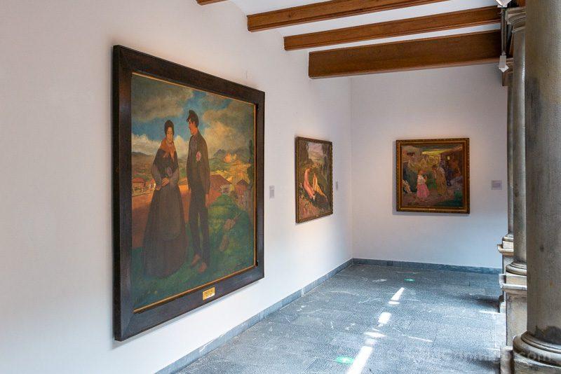 Museos de Gijon Casa Natal Jovellanos Cuadros