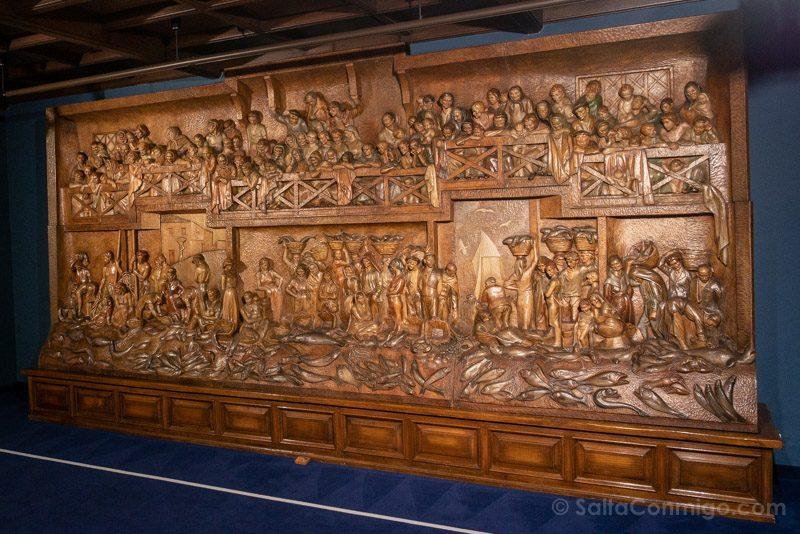 Museos de Gijon Casa Natal Jovellanos Retablo Mar Sebastian Miranda