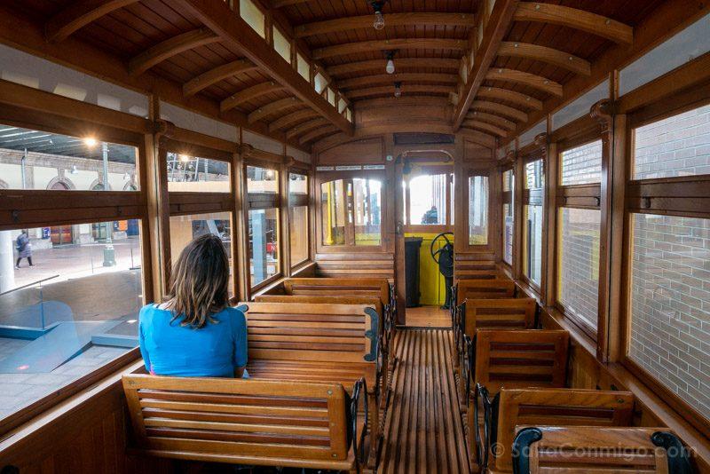 Museos de Gijon Ferrocarril Asturias Vagon Sara