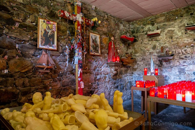 San Andres de Teixido Cueva Exvotos