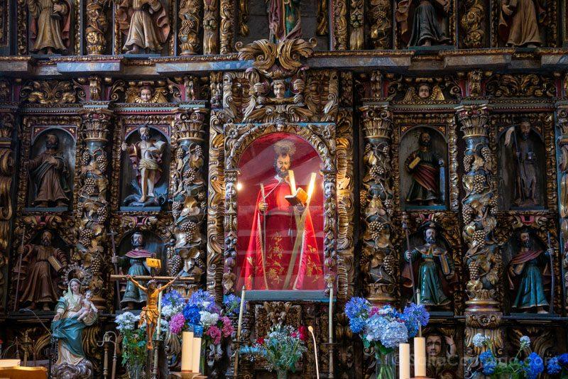 San Andres de Teixido Iglesia Santo
