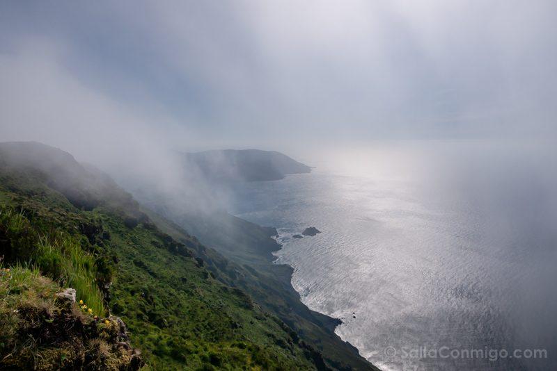 Serra da Capelada Vixia Herbeira Niebla