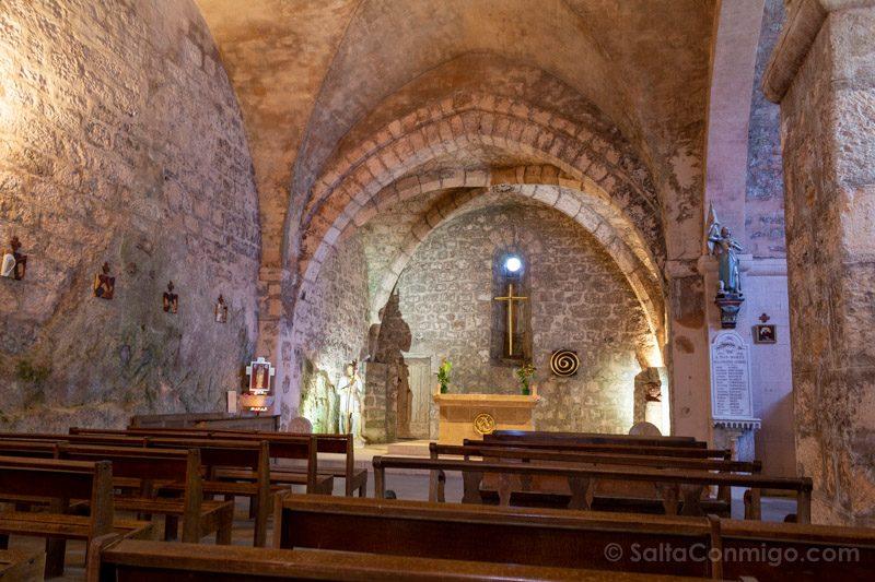 Templarios en Francia La Couvertoirade Iglesia Saint-Christol