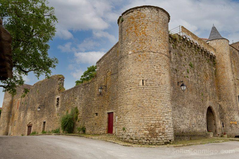 Templarios en Francia Saint-Jean d'Alcas Murallas