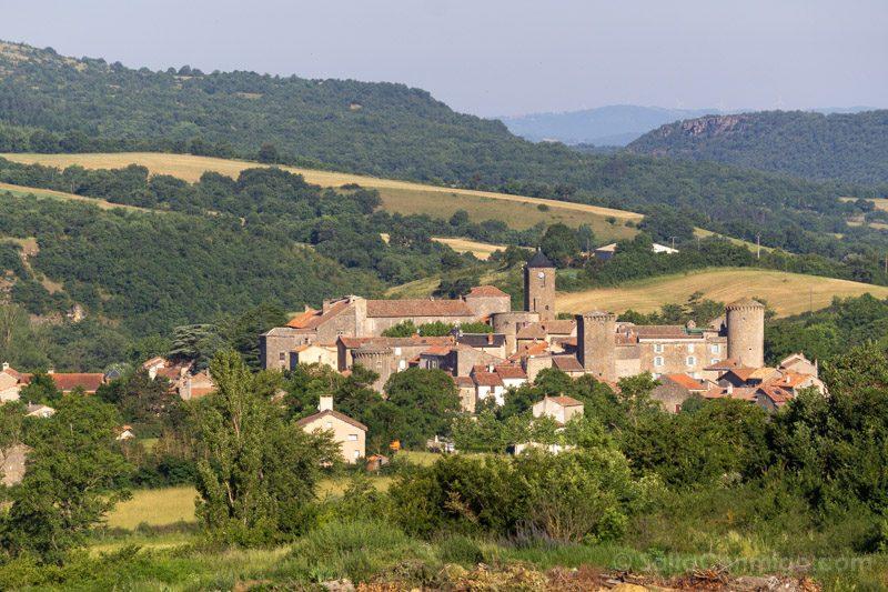 Templarios en Francia Sainte-Eulalie de Cernon Panorama