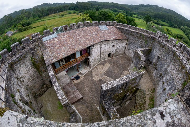Castillo de Moeche Camino Ronda Ojo Pez