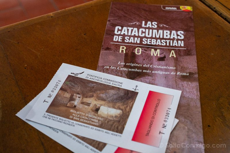 Catacumbas de Roma San Sebastian Entrada