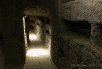 Catacumbas de Roma San Sebastian Galerias
