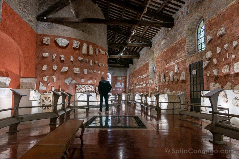Catacumbas de Roma San Sebastian Museo
