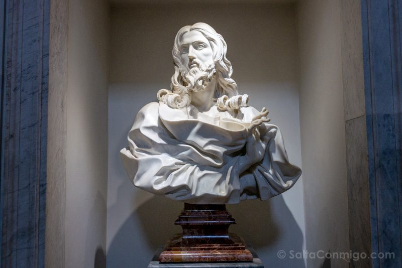 Catacumbas de Roma San Sebastian Salvator Mundi Bernini
