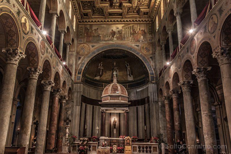 Catacumbas de Roma Santa Agnese Basilica