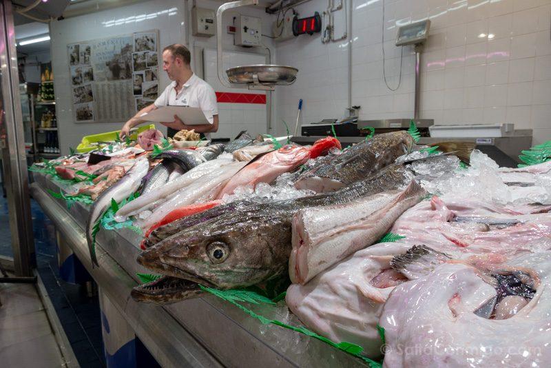 Donde Comer En Gijon Mercado Sur Pescaderia