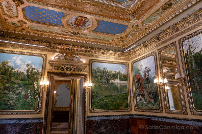 Palacio Santona Comedor Gala Salon Caza