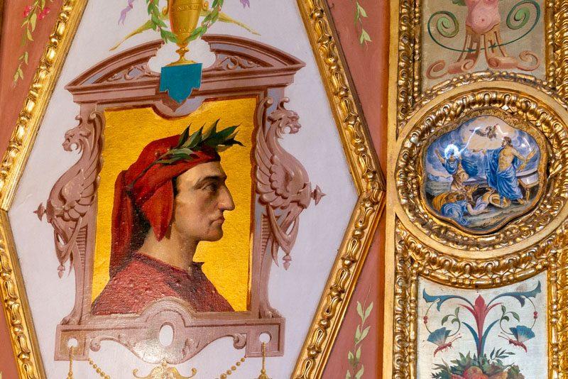 Palacio Santona Salon Renacentista Detalle