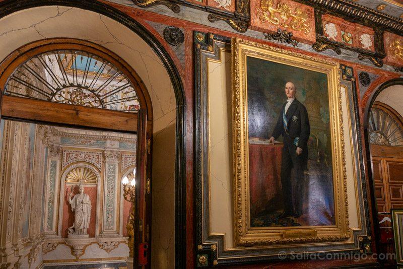 Palacio Santona Vestibulo Madrazo Duque