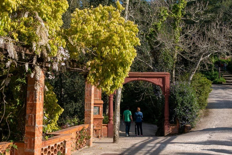 Palacio de Monserrate Arco Indio Entrada