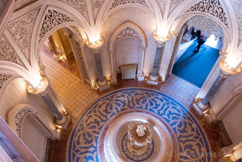 Palacio de Monserrate Atrio