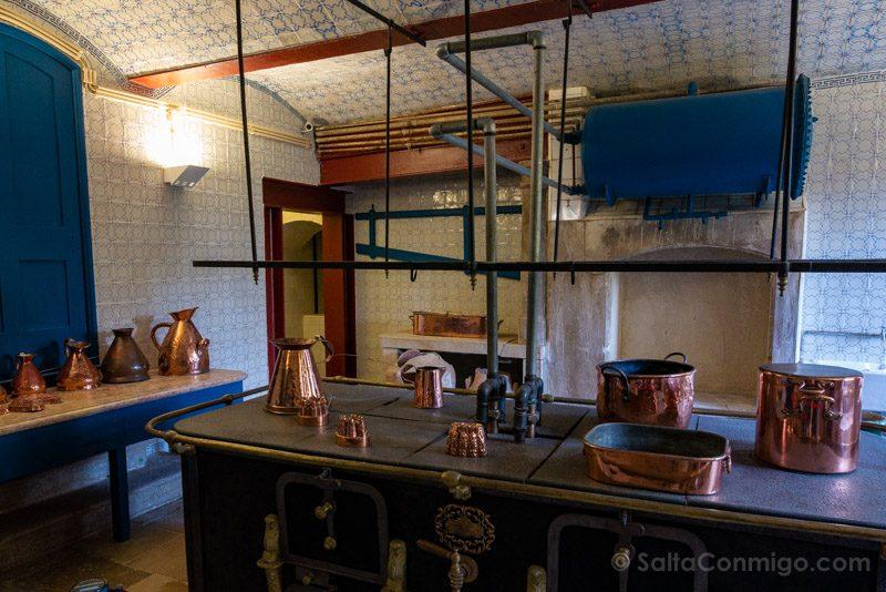 Palacio de Monserrate Cocinas