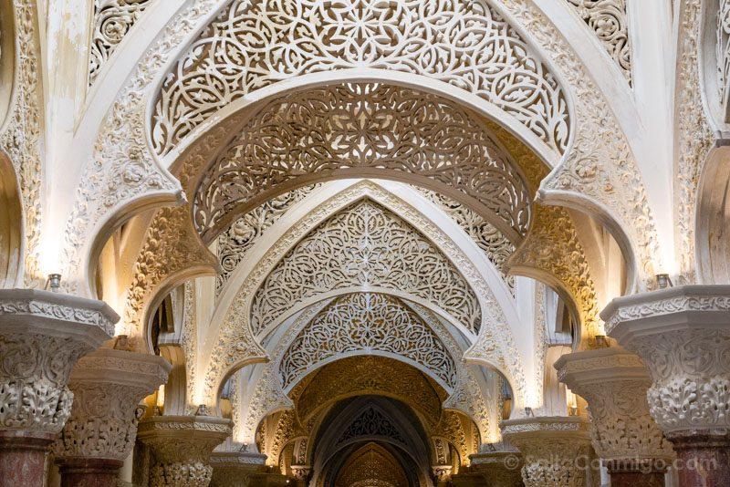 Palacio de Monserrate Galeria Arcos