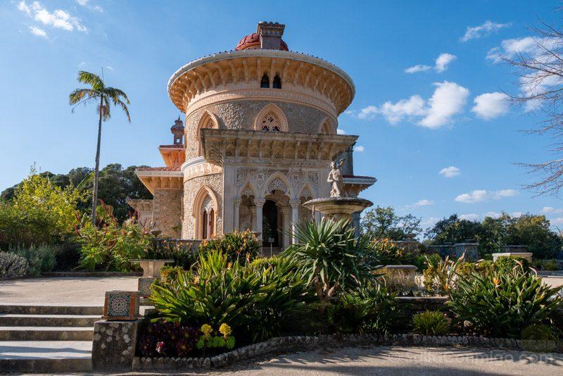 Palacio de Monserrate Torre Sur Entrada