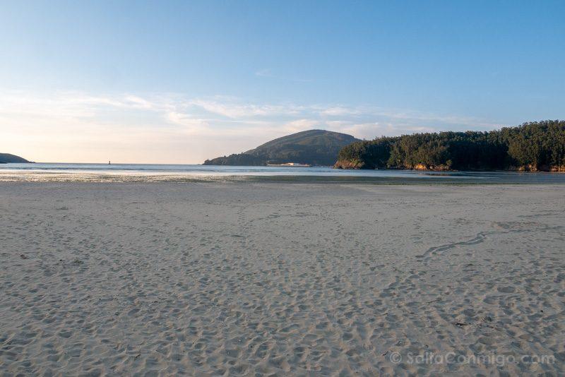 Playas de Ferrol Ferrolterra Praia Vilarrube