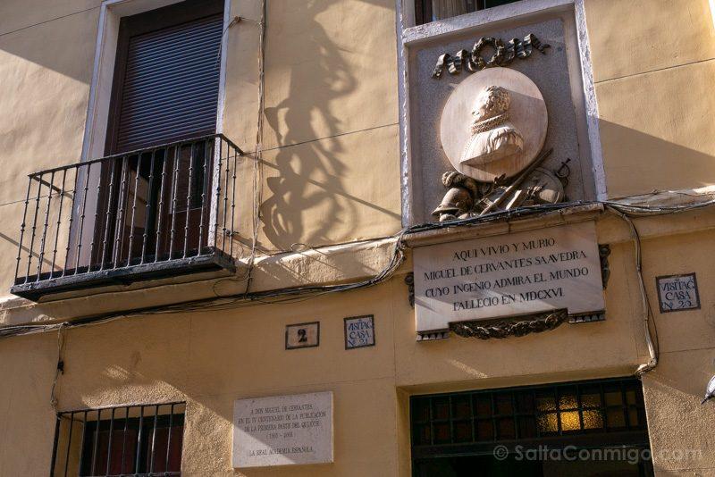 Que Ver En El Barrio De Las Letras Madrid Casa Cervantes