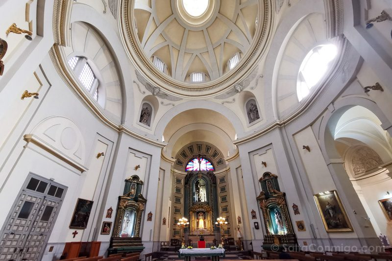 Que Ver En El Barrio De Las Letras Madrid Iglesia San Sebastian