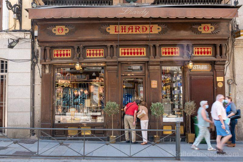 Que Ver En El Barrio De Las Letras Madrid Lhardy