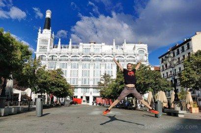 Que Ver En El Barrio De Las Letras Madrid Plaza Santa Ana Salto