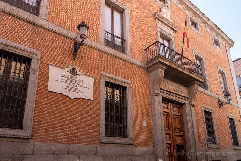 Que Ver En El Barrio De Las Letras Madrid Real Academia Historia