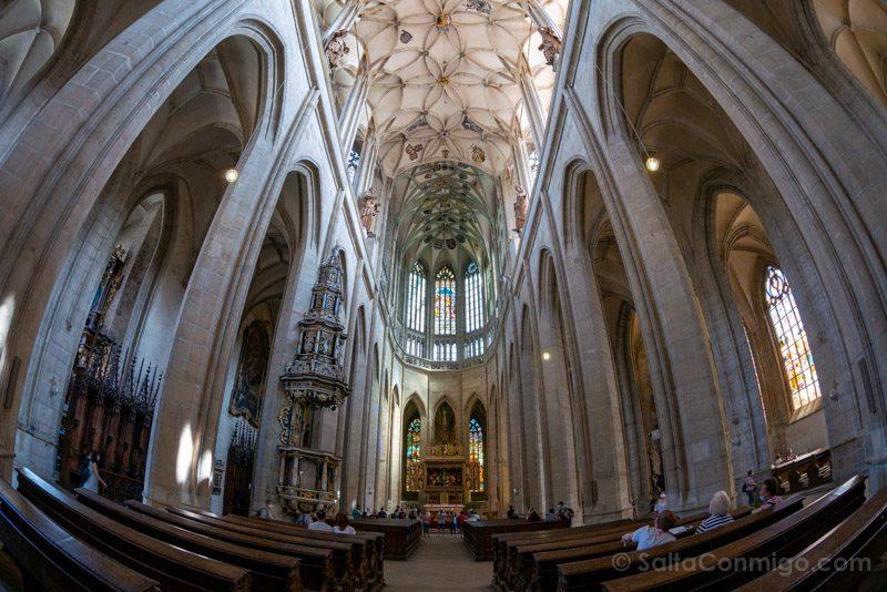 Que Ver En Kutna Hora Catedral Svata Barbora Ojo Pez