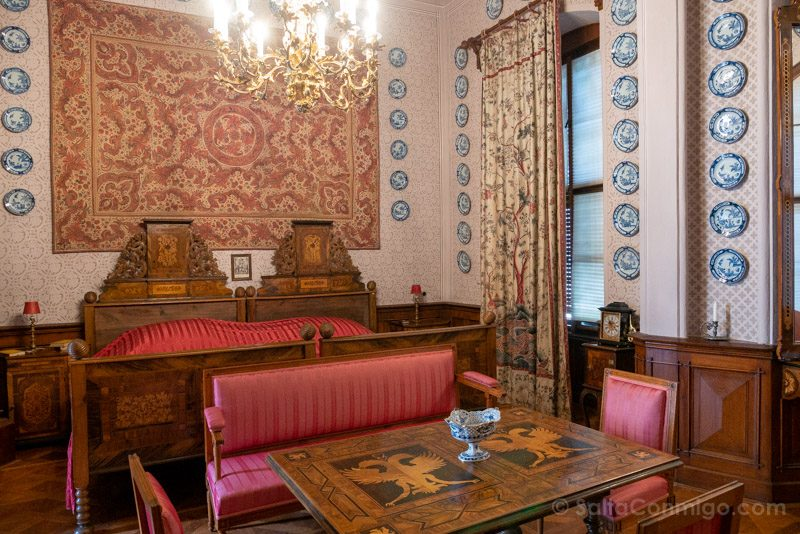 Castillo De Hluboka nad Vltavou Habitacion Invitados