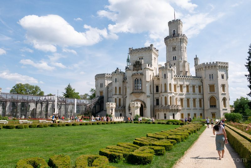 Castillo De Hluboka nad Vltavou Pamela