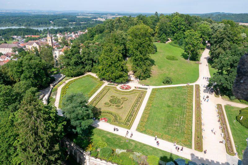 Castillo De Hluboka nad Vltavou Torre Parque