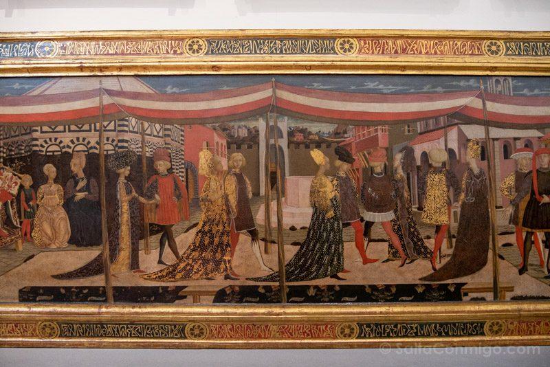 Galeria de la Academia de Florencia Cassone Adimari