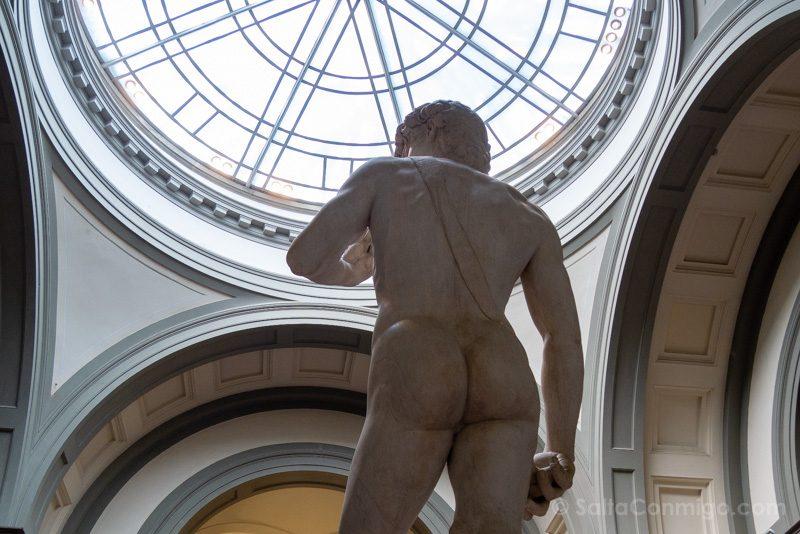 Galeria de la Academia de Florencia David Espalda