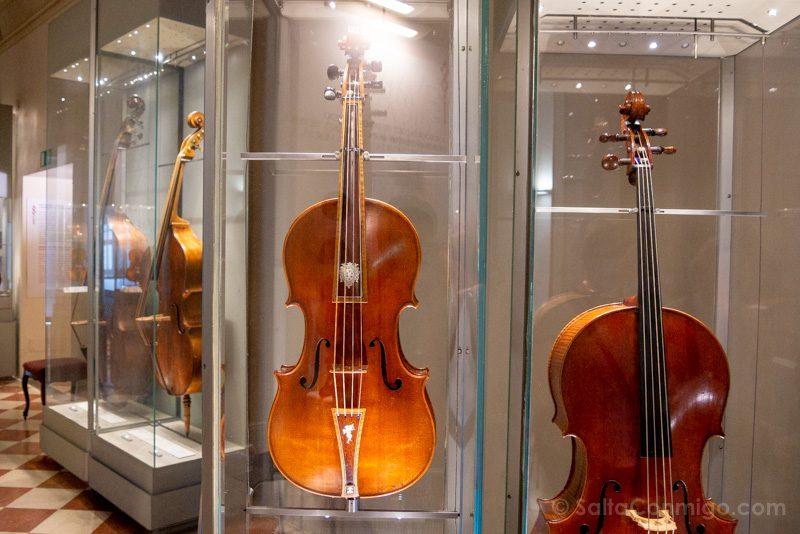 Galeria de la Academia de Florencia Stradivarius Medici