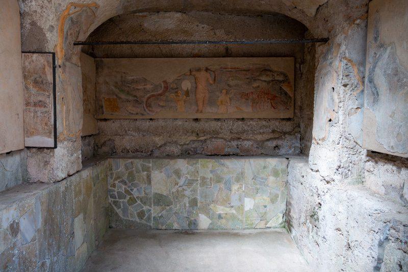 Ostia Antica Casa Diana Frescos
